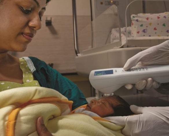 پرتو نوزاد پارس | تست زردی با بیلی چک